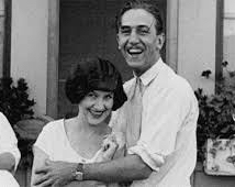 Walt & Lillian at Roy Disney's wedding